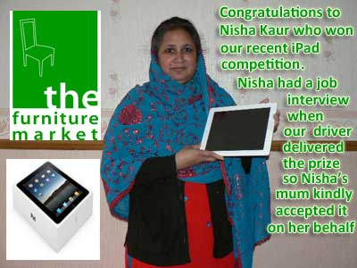 Ipad winner March 2013