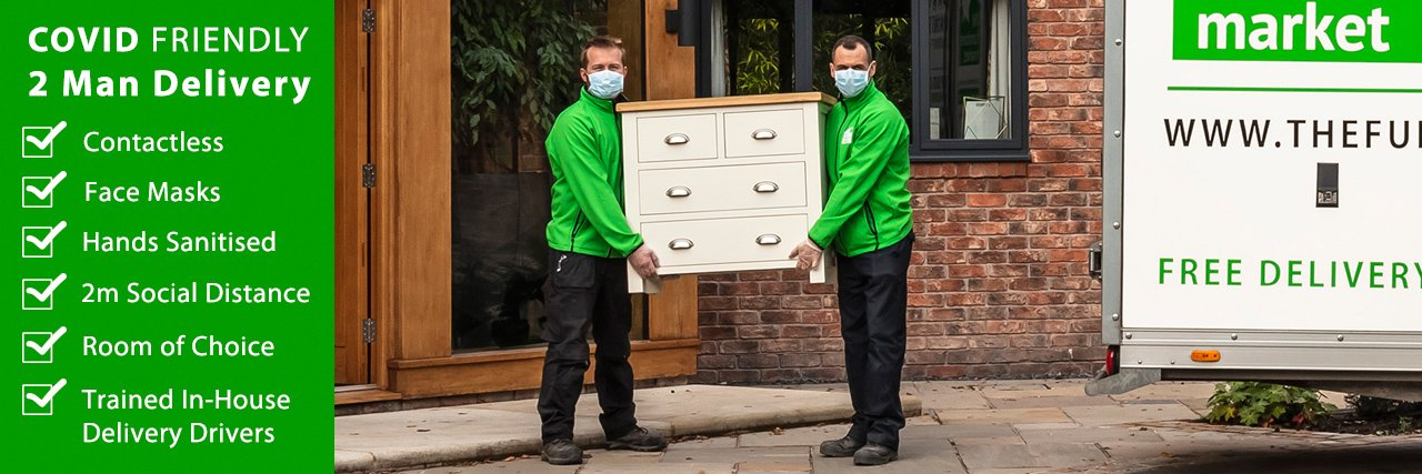 The Furniture Market FREE 2 Man Delivery Service