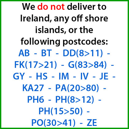 Delivery Postcodes