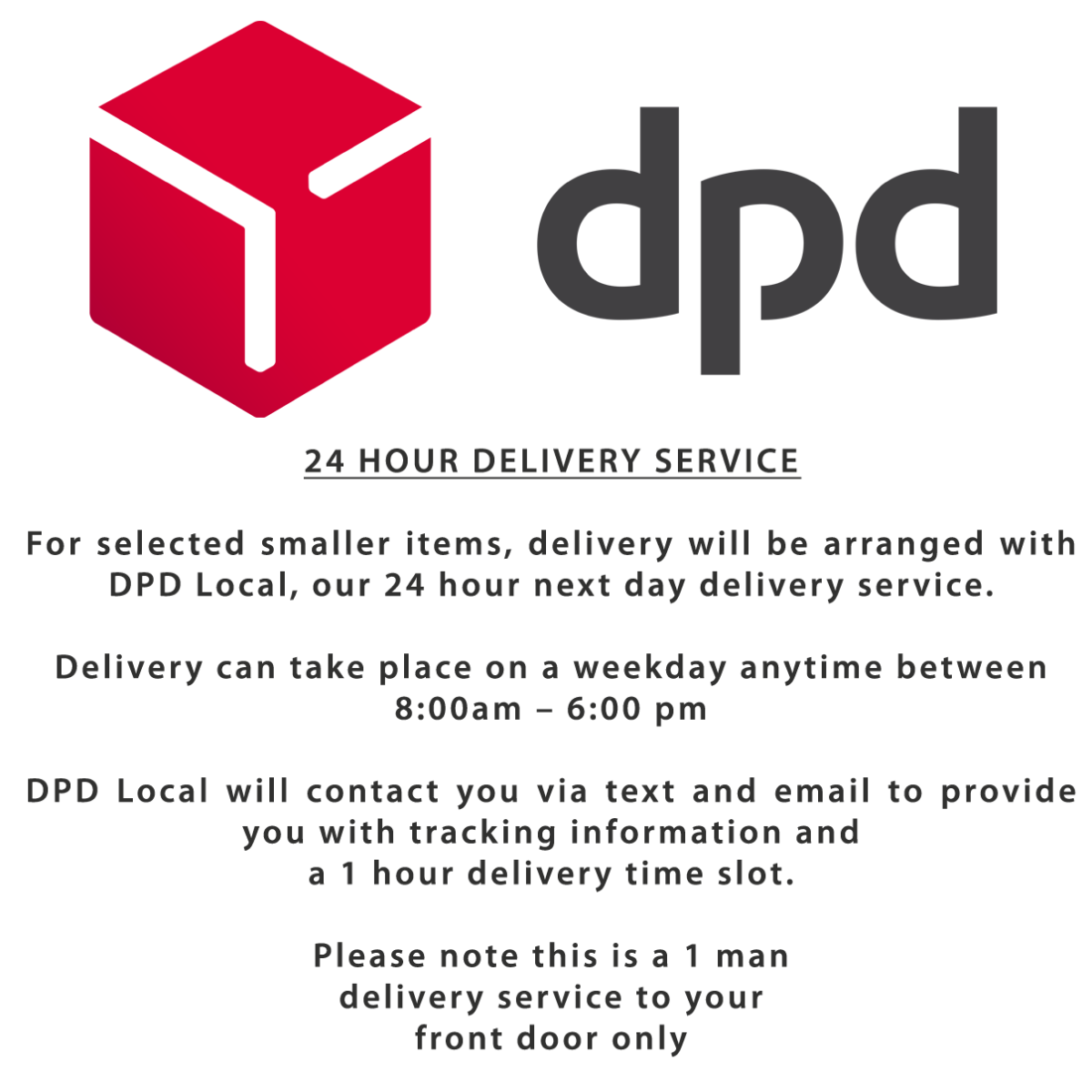 DPD 24 hour delivery