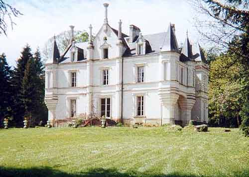 Exterior view of French Chateau
