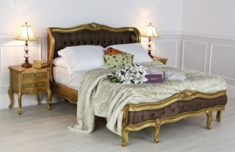 French Glamour san32-g bed