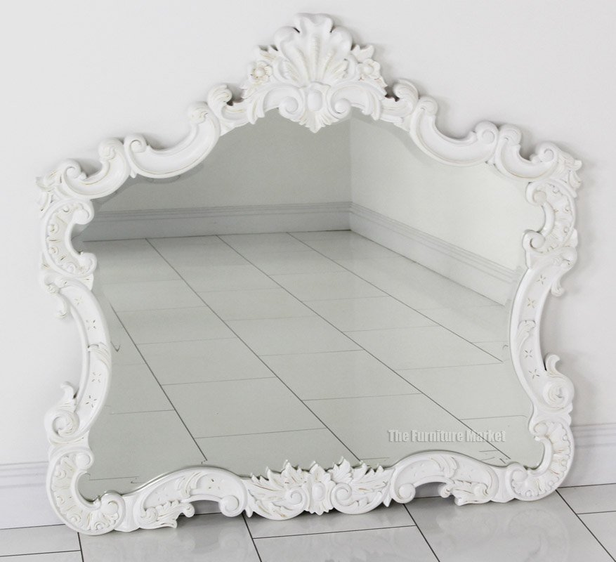 french accessories roccoco wall mirror