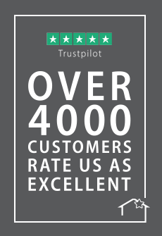4000 real reviews on Trustpilot