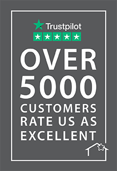 5000 real reviews on Trustpilot