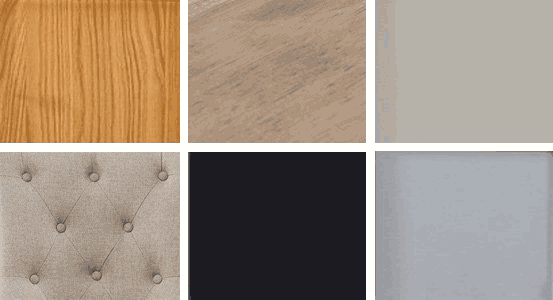 Choose the wood type and finish of your new furniture