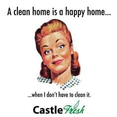 Clean Home is a Happy Home