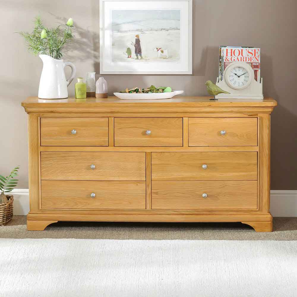French Classic Oak Furniture