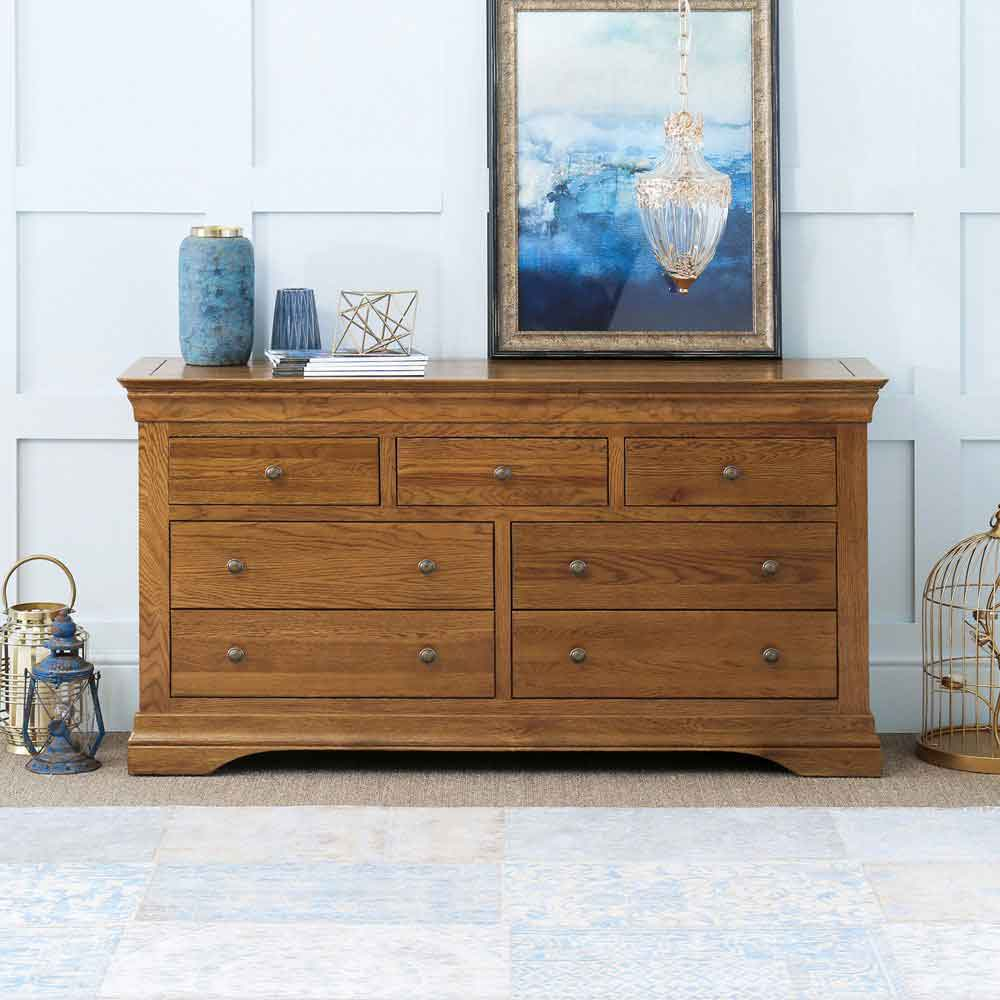 French Louis Oak Furniture
