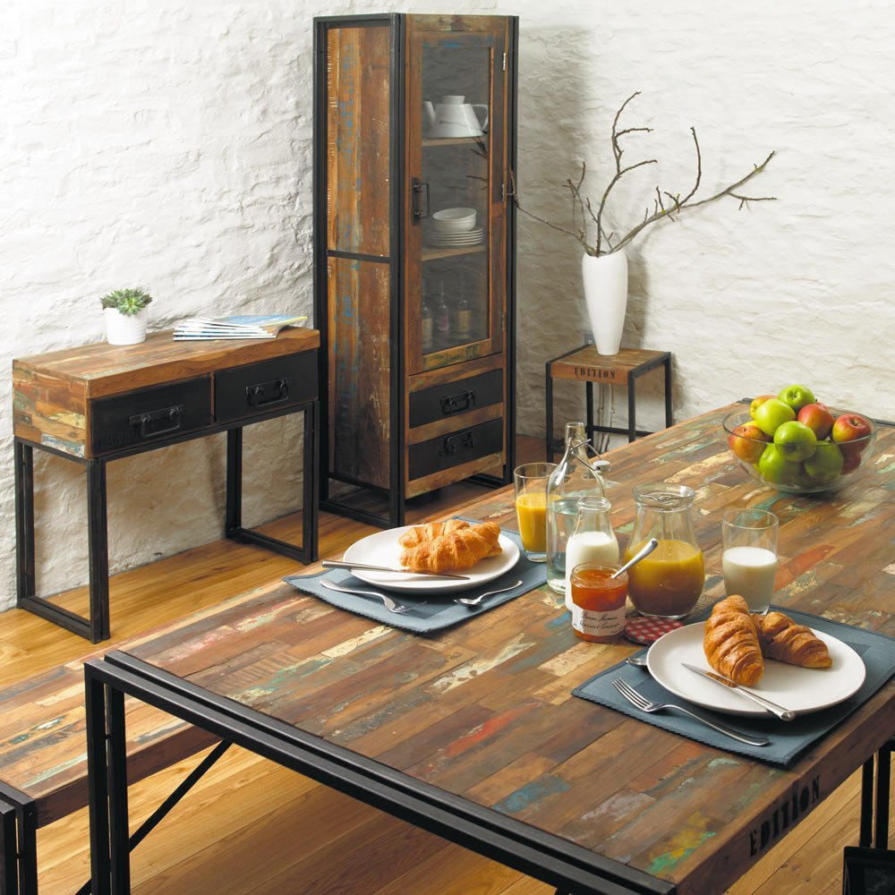 chic industrial furniture. Urban Chic Industrial Alcove Display Unit - In Room. Furniture R