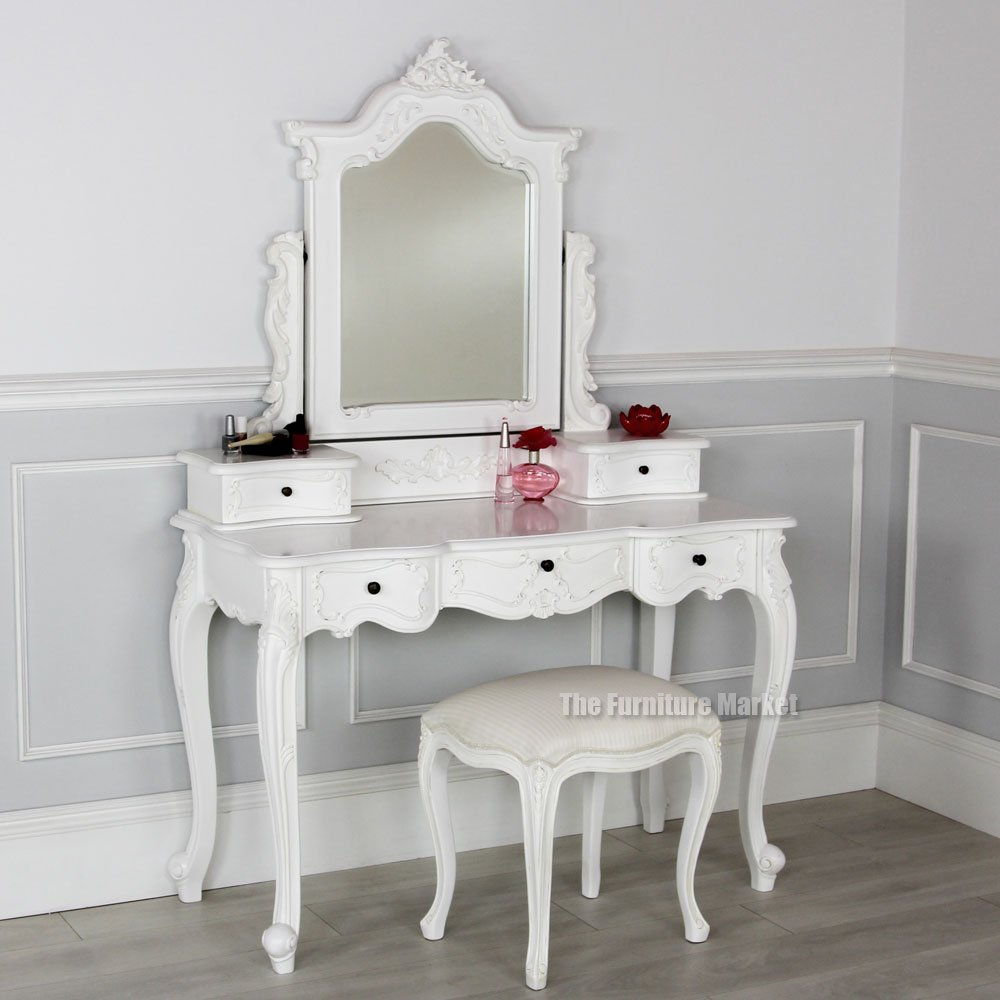 White Painted Mirrored Armoire Archives The Furniture Market