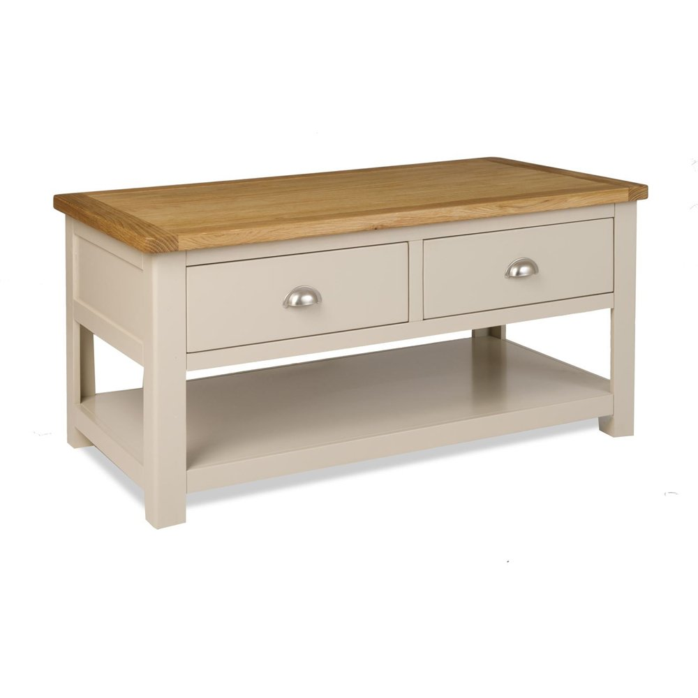 Cheshire Grey Painted Coffee Table