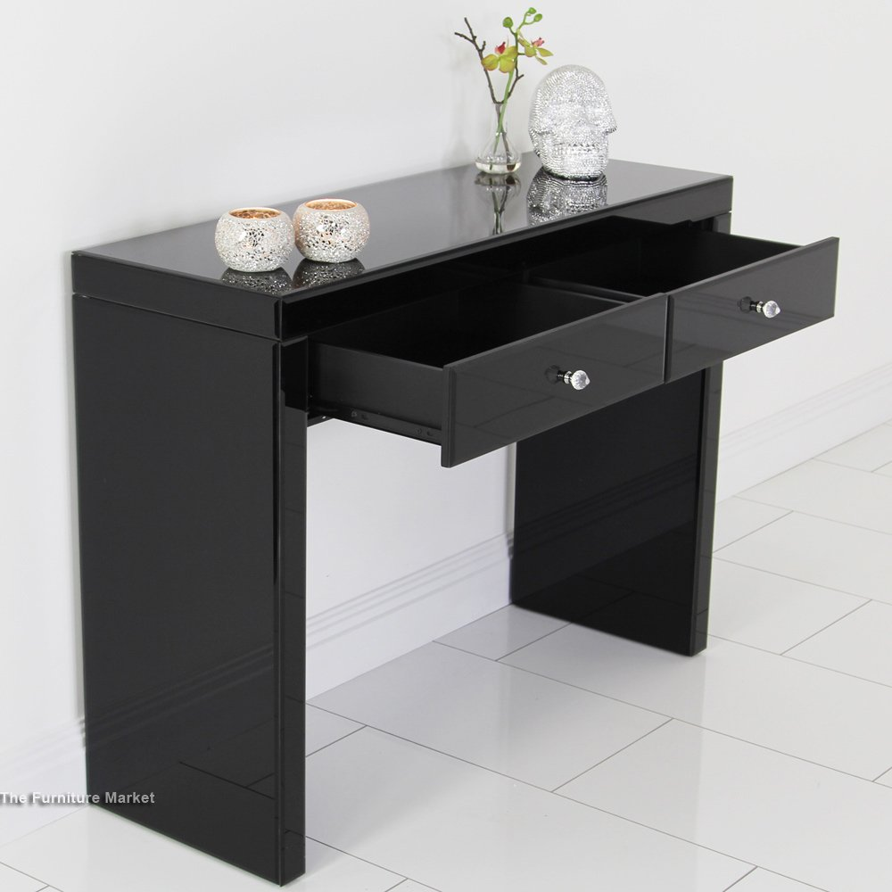 black glass bedroom furniture archives the furniture market. Black Bedroom Furniture Sets. Home Design Ideas