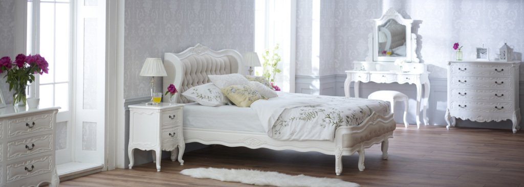 Product of the Week - French Chateau White 2 Drawer Carved ...