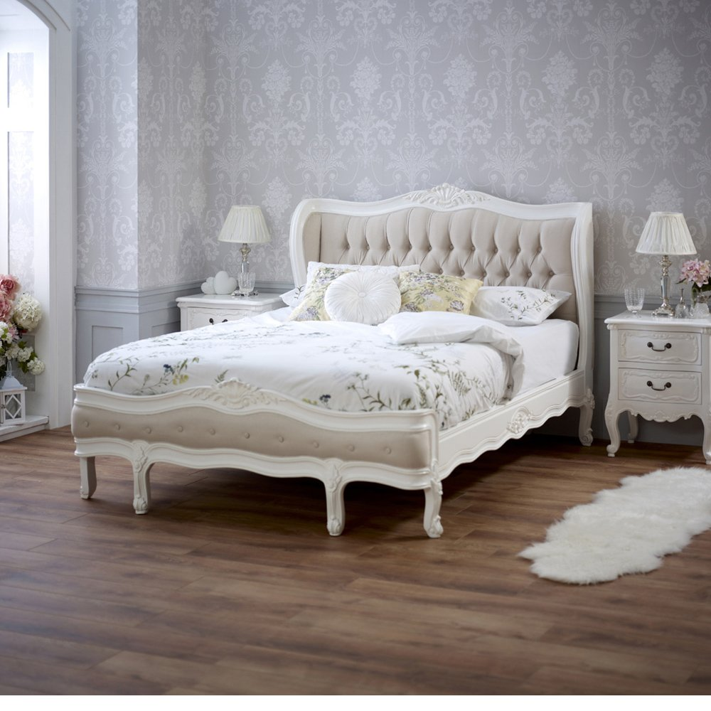 Chateau bedroom furniture uk french chateau king size bed for Chateau beds
