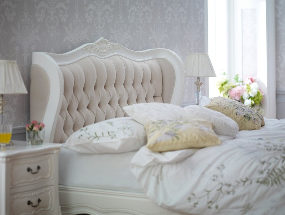 Product of the Week - French Chateau 5ft King Size White ...