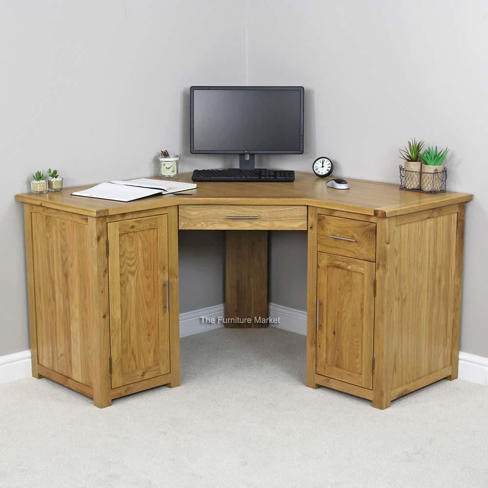 Oak Pedestal Desk Archives The Furniture Market