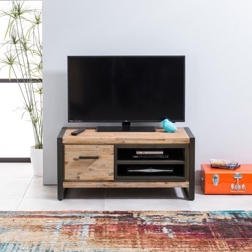 Tv Meubel Acacia Lava.Product Of The Week Metro Industrial Tv Unit The Furniture